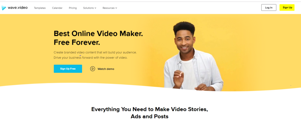 Free Video Editor Wave.Video
